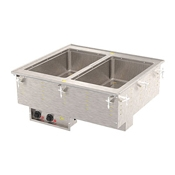 Vollrath 363-80 Two Well Hot Modular Drop-In - Vollrath Steam Tables
