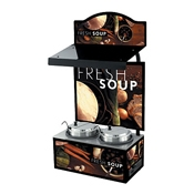 Vollrath 7203203 Soup Canopy Country Kitchen - Vollrath Warming and Display Equipment