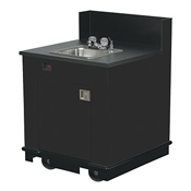 Vollrath 75671 Single Bay Hand Sink Cart - Kiosks and Carts