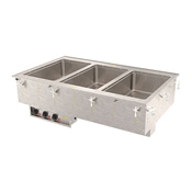 Vollrath 36-01 Three Well Hot Modular Drop-In - Vollrath Steam Tables