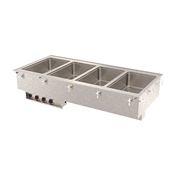Vollrath 36-1 Four Well Hot Modular Drop-In - Vollrath Steam Tables