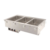 Vollrath 36-4 Three Well Hot Modular Drop-In - Vollrath Steam Tables