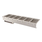 Vollrath 3640-7 Six Well Hot Modular Drop-In - Vollrath Steam Tables