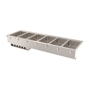 Vollrath 3640-8 Six Well Hot Modular Drop-In - Vollrath Steam Tables