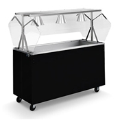 Vollrath 38-3 Affordable Portable Cold Food Station - Kiosks and Carts