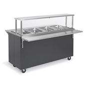 Vollrath 38-4-5 Affordable Portable 4 Well Hot Food Station - Portable Steam Tables