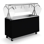 Vollrath 38-4 Affordable Portable Cold Food Station - Kiosks and Carts