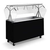 Vollrath 38-60-3 Affordable Portable Cold Food Station - Kiosks and Carts
