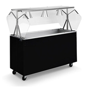 Vollrath 38-60-6 Affordable Portable Cold Food Station - Kiosks and Carts
