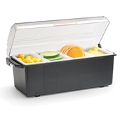 Vollrath 4741 Kondi-Keeper Condiment Dispenser with Standard Lid - Vollrath Bar Supplies