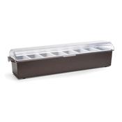 Vollrath 4746 Kondi-Keeper Condiment Dispenser with Standard Lid - Vollrath Bar Supplies