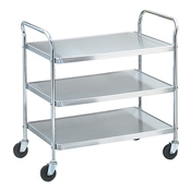 Vollrath 97106 Knocked Down Utility Cart - Vollrath Carts