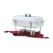 Vollrath 99850 Trimline II 9 Qt Full-Size Chafer - Vollrath Chafers