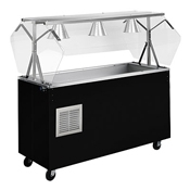 "Vollrath R387-60-4 Affordable Portable Refrig 60"" Cold Food Station - Portable Food Bars"