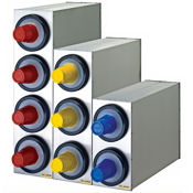 San Jamar C2803 EZ-Fit Standard 3-Slot Stainless Steel Box Systems - San Jamar