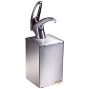 San Jamar P4800 Condiment Pump Box - Condiment Servers