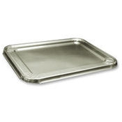 Durable Packaging Half Size Disposable Steam Table Pan Lids - Disposable Cookware