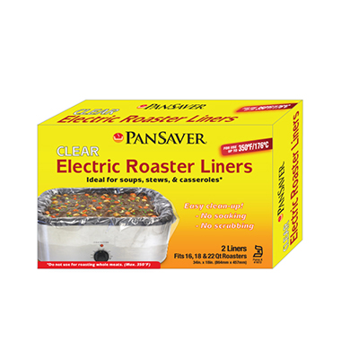 Pansaver 42120 16-22 Qt. Electric Roaster Liners (Case of 36)