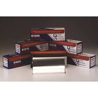 "Durable Packaging Aluminum foil, 18"" x 500'"