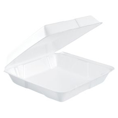 Dart Large 1-Compartment Foam Containers