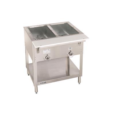 Duke E302 Stationary Two Well AeroHot Steam Table