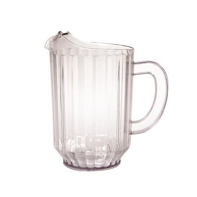 FSE 32 oz (1 Qt) Clear Plastic Pitcher (Small)