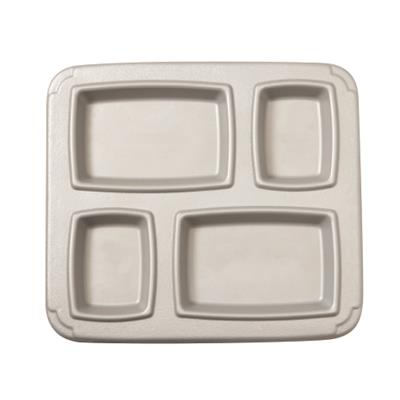 Cook's 4 Compartment Insulated Gator Meal Tray