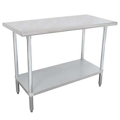 """Advance Tabco SLAG-304-X Stainless Steel 30"""" x 48"""" Work Table"""