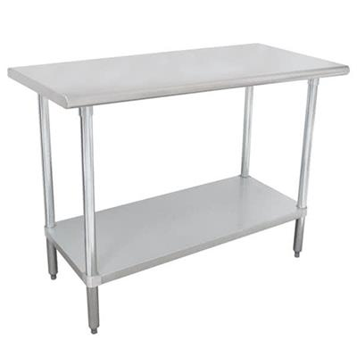 "Advance Tabco SLAG-306-X Stainless Steel 30"" x 72"" Work Table"