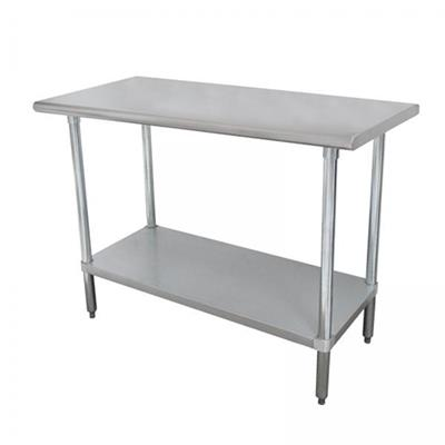 """Advance Tabco SLAG-308-X Stainless Steel 30"""" x 96"""" Work Table"""