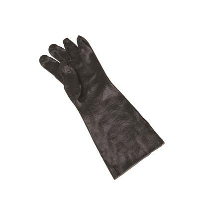 "San Jamar 17"" Heavy Duty Rubber Gloves"