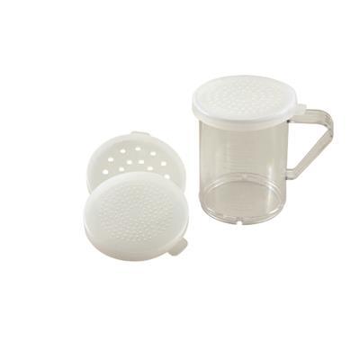 Carlisle Polycarbonate Dredges w/Clear Salt Lids