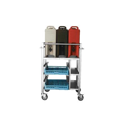 New Age Industrial Aluminum Beverage Cart