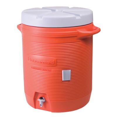Rubbermaid Orange 10 Gallon Water Cooler