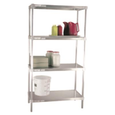 New Age 2448SB(4)/72P(4) Adjustable Solid Shelving