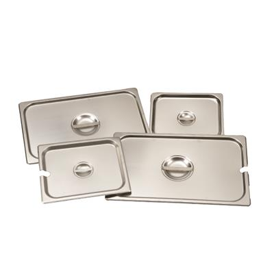 Winco 1/2 Size, Solid Steam Table Pan Lid