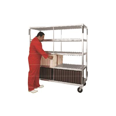 New Age Industrial Heavy Duty 264 Cafeteria Tray Drying Rack