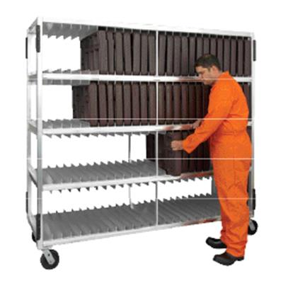 """New Age Industrial 3-Shelf 70-5/8""""L Universal Tray Drying Rack"""