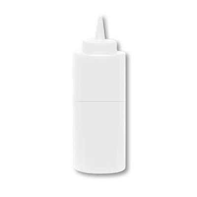Thunder Group 8 oz Clear Squeeze Bottle