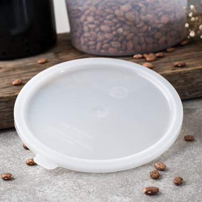 Carlisle White Polyethylene Lid for 2-3-1/2 qt Bains Marie