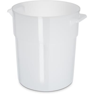 Carlisle White Polyethylene 3-1/2 qt Bain Marie