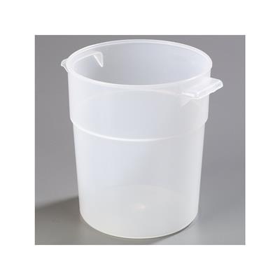 Carlisle Translucent Polypropylene 3-1/2 qt Bain Marie