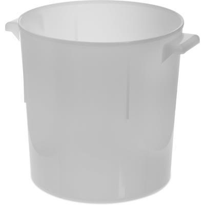 Carlisle White Polyethylene 6 qt Bain Marie