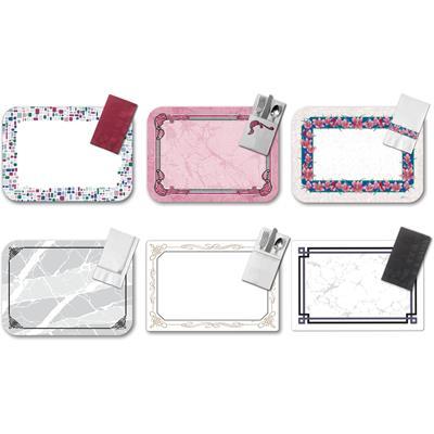 Dinex Filigree Pocket-Fold Paper Dinner Napkins