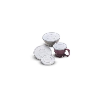 Dinex Tropez Disposable Lids for 5oz Cup & Bowl