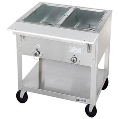 Duke E302SW Electric Steam Table with Two Sealed Wells