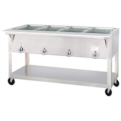 Duke EP304SW Electric Steam Table with Four Sealed Wells