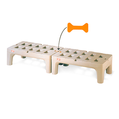 "Metro Bow Tie 48"" x 22"" x 12"" Dunnage Rack"