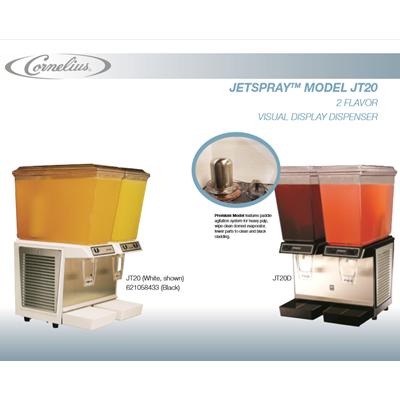 Jet Spray JT-20 Two Flavor Visual Display Dispenser