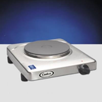 Cadco KR-S2 Electric Single Burner Hotplate and Buffet Range - Hot Plates